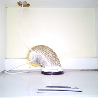 Cambio tubo de campana extractora y valvula de retorno - Campana extractora sin tubo ...