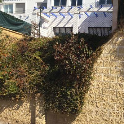 Muro de contenci n terraza el castillo m laga for Muro de contencion precio