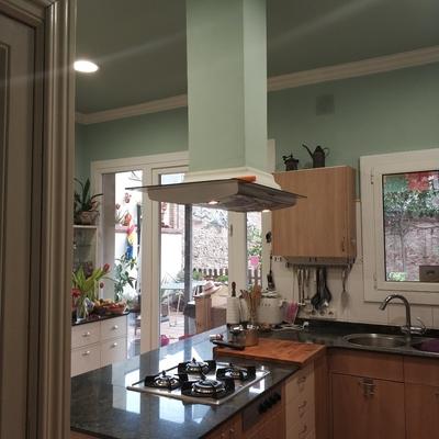 Instalar campana extractora de techo sustituyendo una de - Campanas extractoras pando precios ...