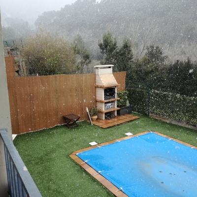 Fabricaci n cubierta r gida para piscina urb can g ell - Fabricacion de piscinas ...