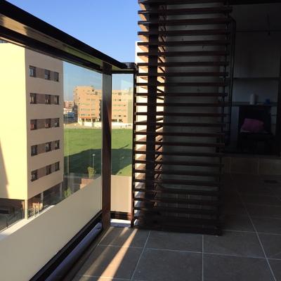 Cerramiento Tendedero Aluminio Y Terraza Cortina De Cristal Tipo Lumon Getafe Madrid Habitissimo
