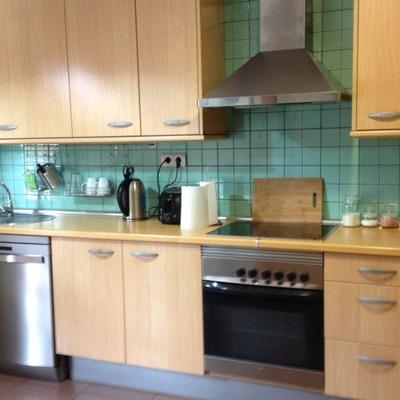 fecha estimada del proyecto lo antes posible pintar los azulejos de la cocina