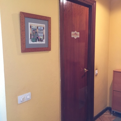 Instalar puerta corredera de madera sin obra herrajes no - Instalar puerta corredera ...