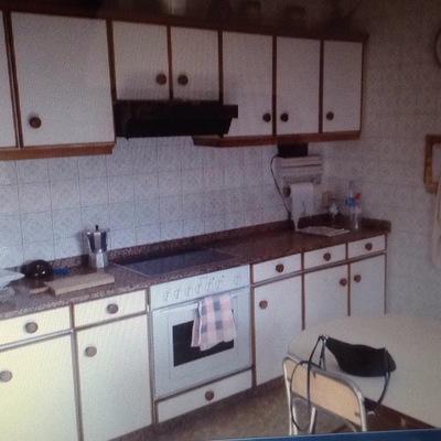 Muebles Cocina Cambio O Pintura De La Encimera - Cocinas Pontevedra ...