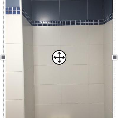 Armario a medida en hueco en cuarto de baño - Rivas ...