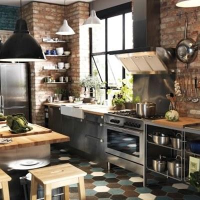 Amueblar cocina estilo industrial m laga m laga for Presupuesto cocina industrial