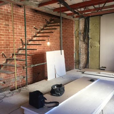 Colocar gres porcelanico imitacion ladrillo en una pared - Gres porcelanico precio m2 ...
