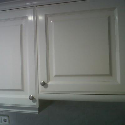 Pintar puertas de armario de cocina en blanco lacado - Armarios de cocina precios ...