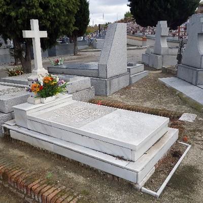 Inscripci n l pida y saneamiento de toda la sepultura de for Granito para suelos precio