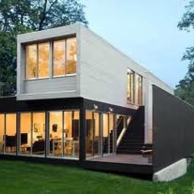 Casa prefabricada modular minimalista cornell de - Casas prefabricadas barcelona ...