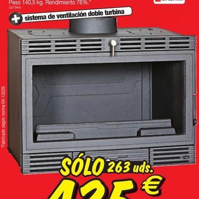 Instalaci n insert casette en hogar chimenea alp girona for Instalar insert chimenea existente