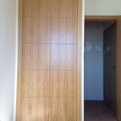 Cambiar armario empotrado con puertas abatibles por - Armarios con puertas abatibles ...