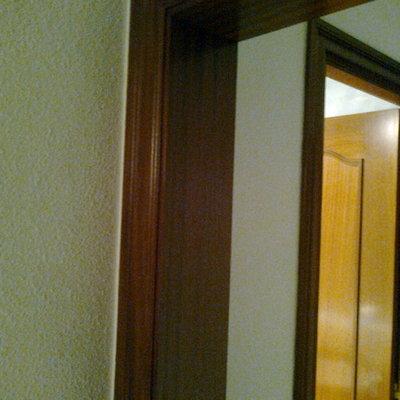 marcos de madera para puertas