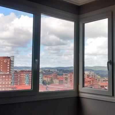 Cambio ventana fija por oscilobatiente cruces barakaldo - Presupuesto cambio ventanas ...