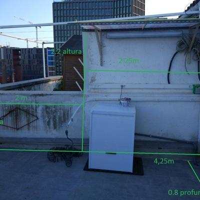 Armario exterior lavadora varios barcelona barcelona - Armario lavadora exterior ...