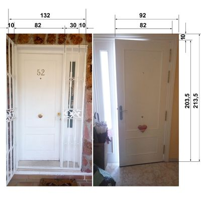 Instalaci n puerta acorazada cerro del venero madrid habitissimo - Puerta acorazada madrid ...