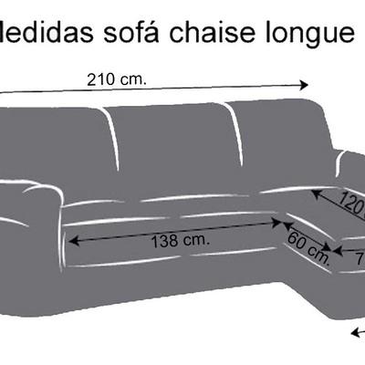 Fundas de sofa con cheslong free nuevo del sofa cheslong for Medidas sofa cheslong