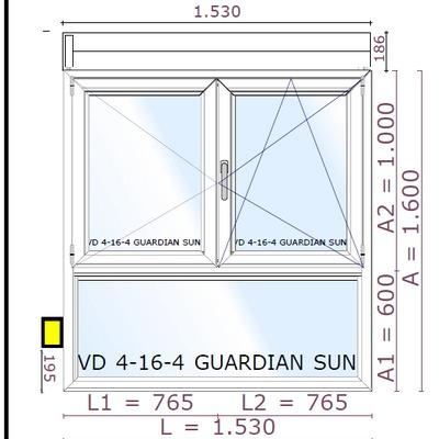 Ventanas pvc y aluminio rivas vaciamadrid madrid for Precio ventanas aluminio a medida