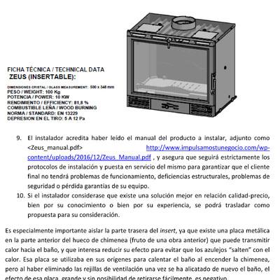 Instalar un insert casette de chimenea en madrid madrid madrid habitissimo - Se puede poner una chimenea de pellets en un piso ...