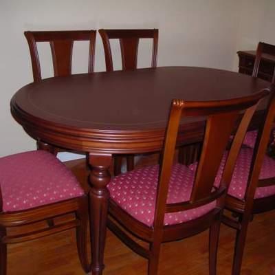 Pintar mesa y seis sillas para cambiarles el estilo - Madrid (Madrid ...