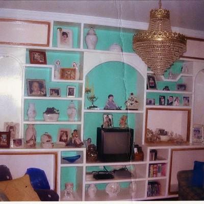 Poner estantes y puertas de cristal a un mueble de - Mueble de escayola ...