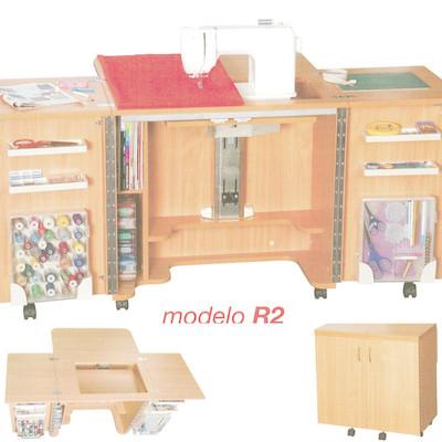 Mueble para maquina de coser pinto madrid habitissimo - Mueble maquina de coser ...