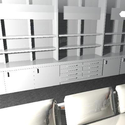 Hacer mueble de pladur de estanterias con puertas y - Cajones para estanterias ...