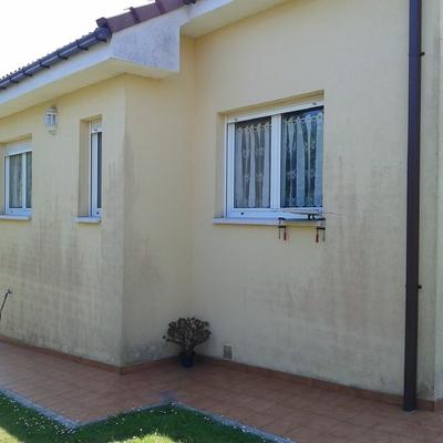 Pintar fachada casa unifamiliar castrillon castrillon asturias habitissimo - Presupuesto pintar casa ...