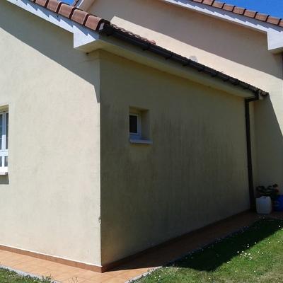 Pintar fachada casa unifamiliar castrillon castrillon for Presupuesto pintar fachada chalet