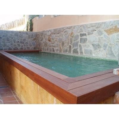 Construir piscina peque a elevada de obra sanlucar la mayor sevilla sanlucar la mayor - Precio construir piscina ...