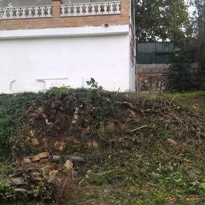 Construcci n muro contenci n hormig n vila rodona for Muro de contencion precio