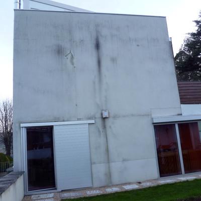 Pintar fachada unifamiliar con pintura lotusan ordu a for Presupuesto pintar fachada chalet
