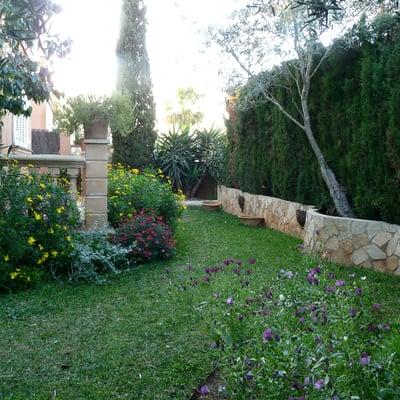 Instalaci n de spersores y riego por goteo en jardin de for Instalacion riego jardin