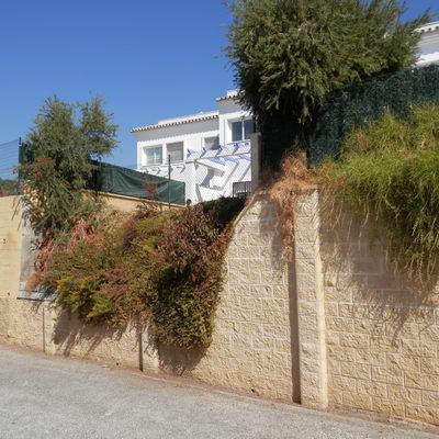 Muro de contenci n terraza el castillo m laga for Muro de separacion terraza