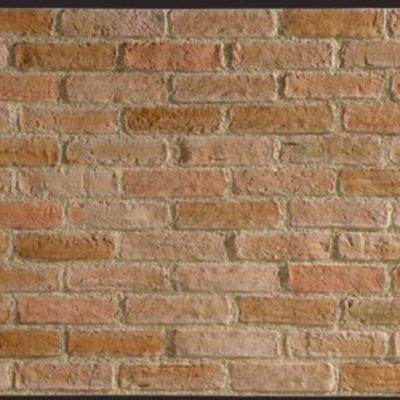 Colocar 9 paneles de poliuretano imitaci n ladrillo nou - Panel imitacion ladrillo ...