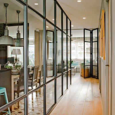 Instalaci n puertas interior met licas y vidrio for Precio instalacion puertas interior