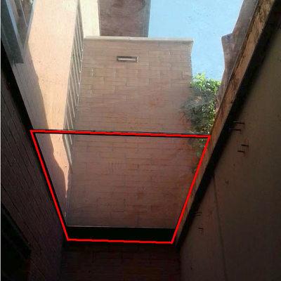Sustituir el techo acristalado de un patio ingl s por un - Patio ingles ...
