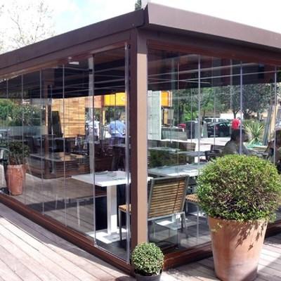 P rgola en madera y cristal ponferrada le n habitissimo - Nebulizadores para terrazas baratos ...