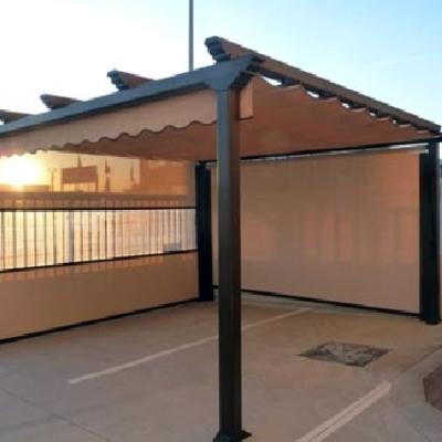 Pergola atico badalona barcelona habitissimo - Pergola terraza atico ...