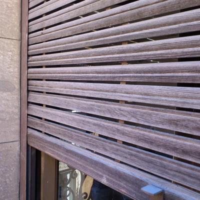 realizar persiana de madera antigua madrid madrid