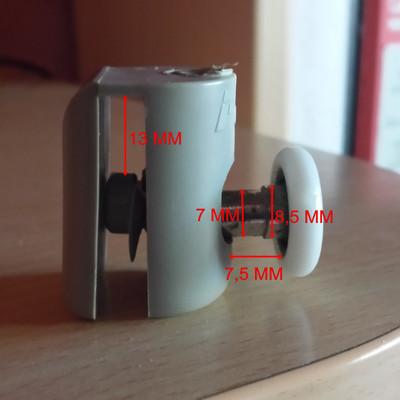 Profiltek 041122 rodamiento de mampara terrassa - Rodamientos mampara bano ...