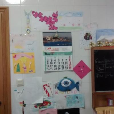 Pintar mi cocina y darle un aire m s actual a coru a a - Pintar pared pizarra ...