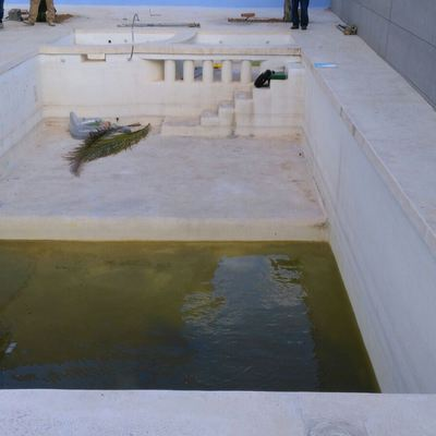 Alicatado piscina calicanto de realon valencia for Precio m2 alicatado