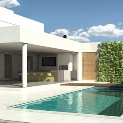 Presupuesto piscina rectangular de obra rub barcelona for Piscina rubi