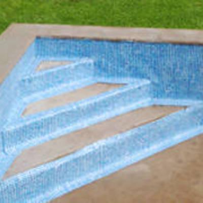 Escalera de obra en piscina casilla del aire c rdoba - Presupuestos de piscinas de obra ...