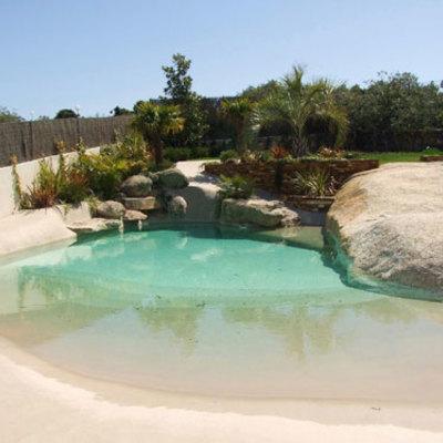 Construccion piscina arena compacta tobarra tobarra for Precio para construir una piscina