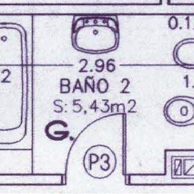 Techo desmontable de registros en cuarto de ba o getafe for Techo desmontable bano