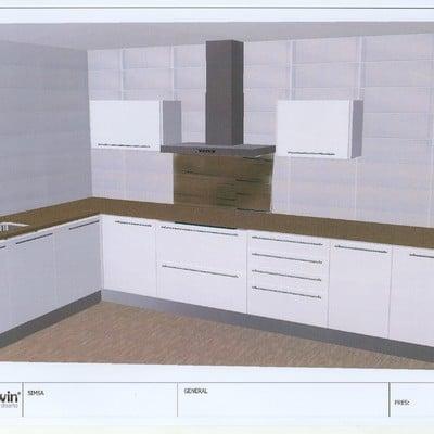 Instalacion completa de cocina en obra nueva terrassa for Presupuesto cocina completa