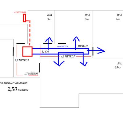 Instalaci n de aire acondicionado por conductos en casa for Instalacion de aire acondicionado por conductos