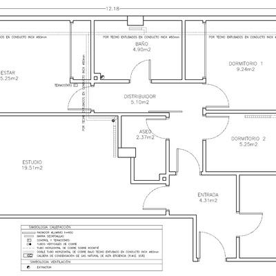 Presupuesto de instalaci n de calefacci n y acs para piso for Ejemplo de presupuesto instalacion geotermica chalet